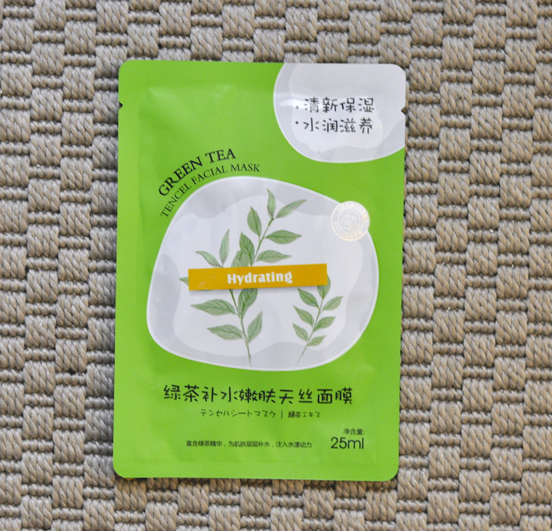 Miniso Green Tea SheetMask